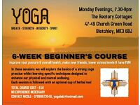 Beginner's Yoga Classes in Milton Keynes (7th November-12th December)