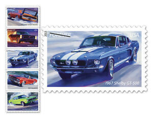 USPS-New-America-on-the-Move-Muscle-Cars-Limited-Edition-Self-Adhesive-Stamps