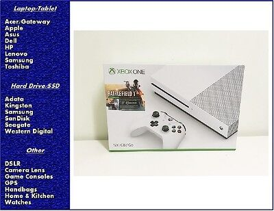 NEW Xbox One S 500GB Console  Battlefield 1 Bundle, Sealed