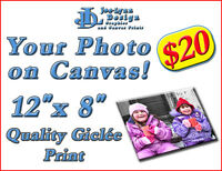 Your Photo on Canvas! - Giclée Canvas Prints Starting at $20