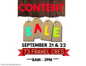Content Sale Find Or Advertise Garage Sales In Toronto