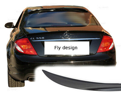 Mercedes CL W216 Heckspoiler Spoiler Lippe Bodykit LACKIERT 189 Brilliantschwarz