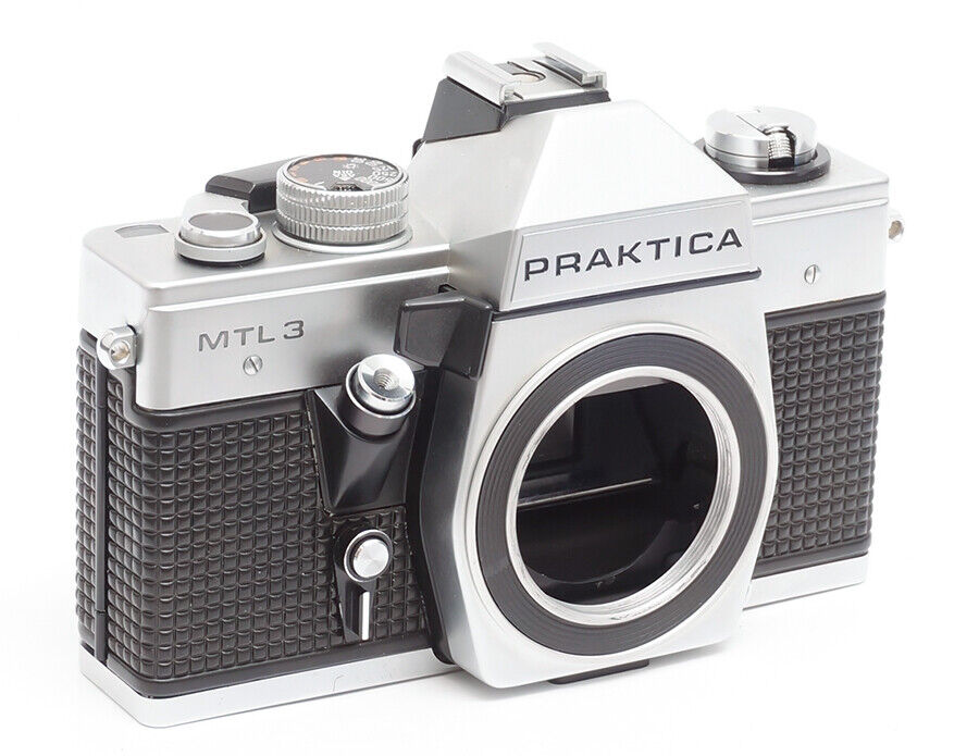 PRAKTICA MTL 3 SPIEGELREFLEX KAMERA M42 MOUNT DDR ANALOG 35MM FILM MTL3