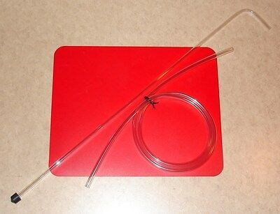 "SIPHON KIT LONG 30"" RACKING CANE w/TIP & 5' HOSE FITS 6-15+ GALLON CARBOY BUCKET"