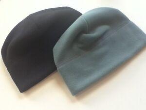 2 Foliage Green 3 Black Military Polartec Micro Fleece Cap