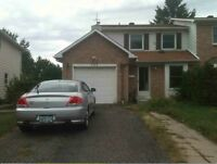 House for Rent in Orleans with large, private backyard