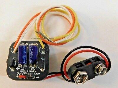 Dale Wheat Wee Blinky 9V Battery Powered Blinking Light Control EOT / EOT Beacon (Blinkies Lights)