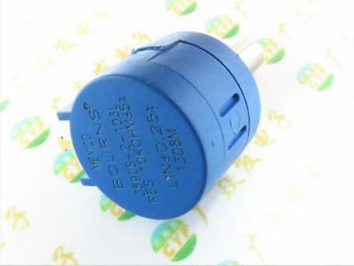 1x 10k Ohm 3590s-2-502l Adjustable Precision Multi-turn Potentiometer Power 2w