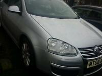 BREAKING VW JETTA 2008 SILVER 1.9 TDI 5 SPEED BLUE MOTION PARTS