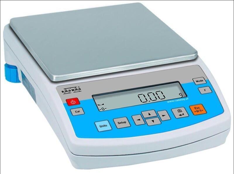 Radwag PS 1200/C2 Precision Scale Lab Balance 1200g x 0.01g Auto Calibration,NEW