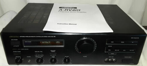 Onkyo A-RV401 Intergrated Stereo Amplifier Working 100 Watts per channel