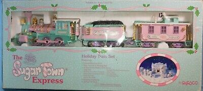 precious moments train set, The sugar Town Express Complete Made in 1995