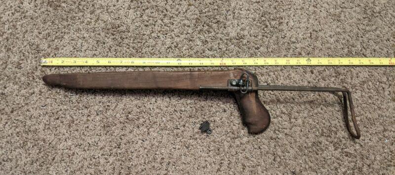 Vintage AK Wooden Stock Part NOS
