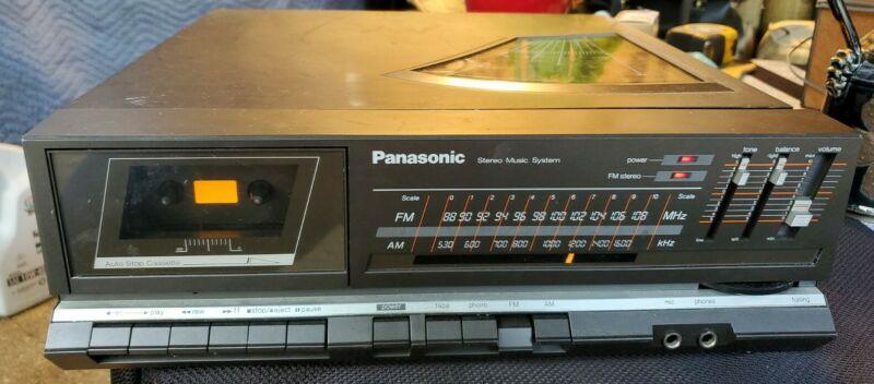 VINTAGE PANASONIC SG-X7 TURNTABLE CASSETTE AM/FM STEREO