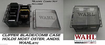 Wahl Blade&atta Chment Guía Peine Caja Almacenamiento Bolso *También para Oster