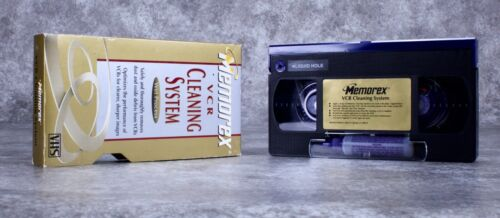 Memorex VCR & Camcorders Video Cleaning System - Wet Process -No Cleaner Fluid
