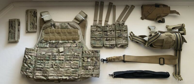 Airsoft Vest Slings & Holsters