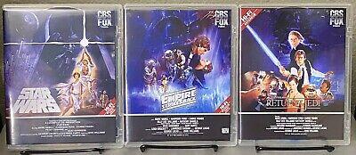 Star Wars Trilogy Blu-ray Custom Artwork For Despecialized 4K77 4K83 PLEASE READ