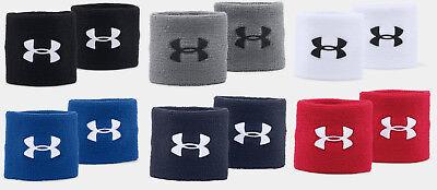 "Under Armour UA Performance 3"" Unisex Wristbands Sweatbands"