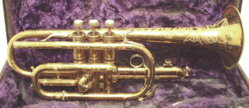 Vintage Pedler ART Cornet in Good Condition - All Reasonable Offers Considered