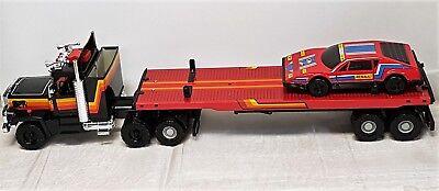 Truck Herkules Sattelzug Lkw 70cm Blech Spielzeug Transporter DDR Ostalgie MSB