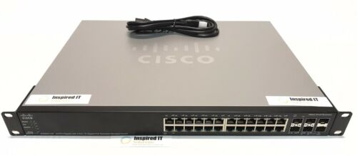 Sg500x-24p-k9 - Cisco 24 Port Gig Poe 4pt 10gig Stack Managed Switch Sg500x-24p