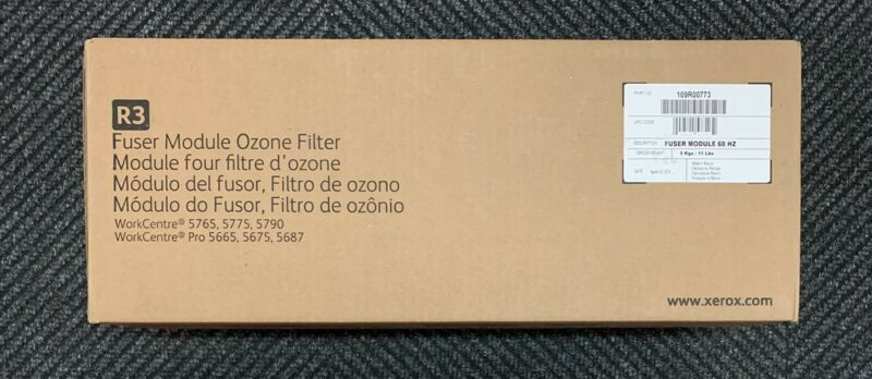 Xerox 109R00773 Fuser Module and Ozone Filter WorkCentre 5845, 5855, 5865, 5875