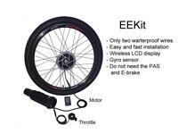 Wireless Electric Bike Conversion Kit EEKit on ELECYCLES
