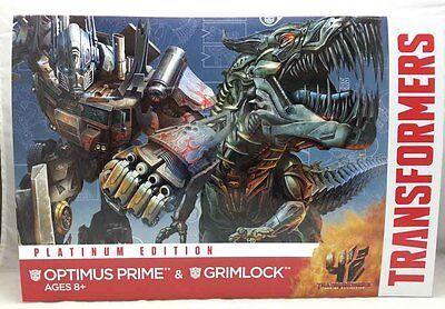 Transformers 4 AOE Platinum Edition : 'OPTIMUS PRIME & GRIMLOCK'  By Hasbro   ()