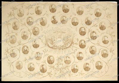 unteroffiziersverein der infanterie zürich-Korps-Offizier-um 1900-Schweiz