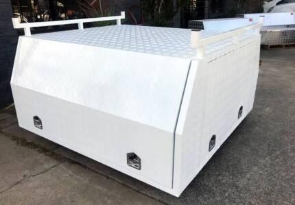 Aluminium Ute Canopy Dual, Extra and Single Cab utes | Tool Storage ...