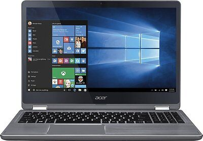 "Acer Aspire 15.6"" Touchscreen Intel Core i5-7200U 2.5GHz 8GB 1TB HDD Win 10 LN"