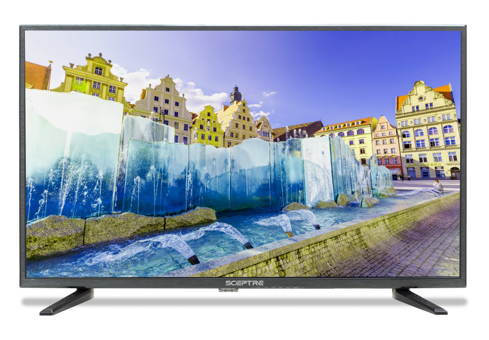 """Sceptre 32"""" Class FHD FULL HDTV 1080P LED TV X325BV-FSR HDMI"""