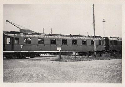 ORIG.FOTO CA.9X6CM 2: KLASSE WAGGON AB6Ü ALTONA AUFNAHME 1935 (AK1749)