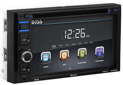 "Boss Audio BV9364B 2-Din 6.2"" In-Dash Car Bluetooth DVD Receiver w/ USB/SD/AUX"