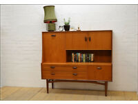 Vintage teak Sideboard G Plan highboard mid Century Danish design