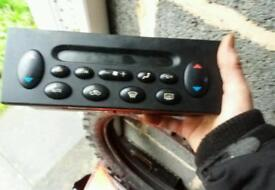Rover or mg heater controls