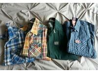 Superdry shirts (medium)