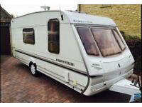 Abbey Expression 520L 2003 with motor Mover & awning..