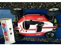 Rc nitro engined model cars