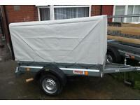 Brand new car camping box trailer