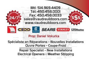 Garage Door Repair West Island Reparations Portes de Garage West Island Greater Montréal image 2