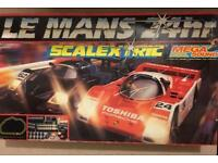 Scalextric Boxed Le Mans 24hr