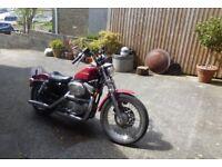 Harley Davidson XLH 883 Hugger Sportster 1994 MOT Feb 2019