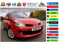 2006 (06) Renault Clio 1.4 16v Dynamique S 3dr NEW SHAPE+AIR CON+ALLOYS+HPIed !CORSA KA YARIS FIESTA