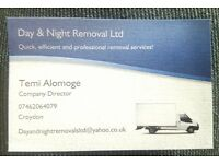 Day & Night Removal Ltd. - House/Office removals, Events, Furniture Collection, Rubbish Clearance..