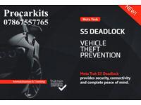 Meta Trak S5- Deadlock tracker system for Cars Vans & Motorhomes