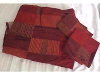 Double Duvet Cover + Pillow Cases -- 100% Cotton
