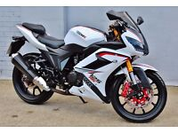 2013/14 63 PLATE WK BIKE 125CC RR SPORT LEARNER LEGAL ROAD BIKE! Can be delivered locally!
