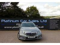 MERCEDES E-CLASS E350 CDI BLUEEFFICIENCY S/S AVANTGARDE (silver) 2012